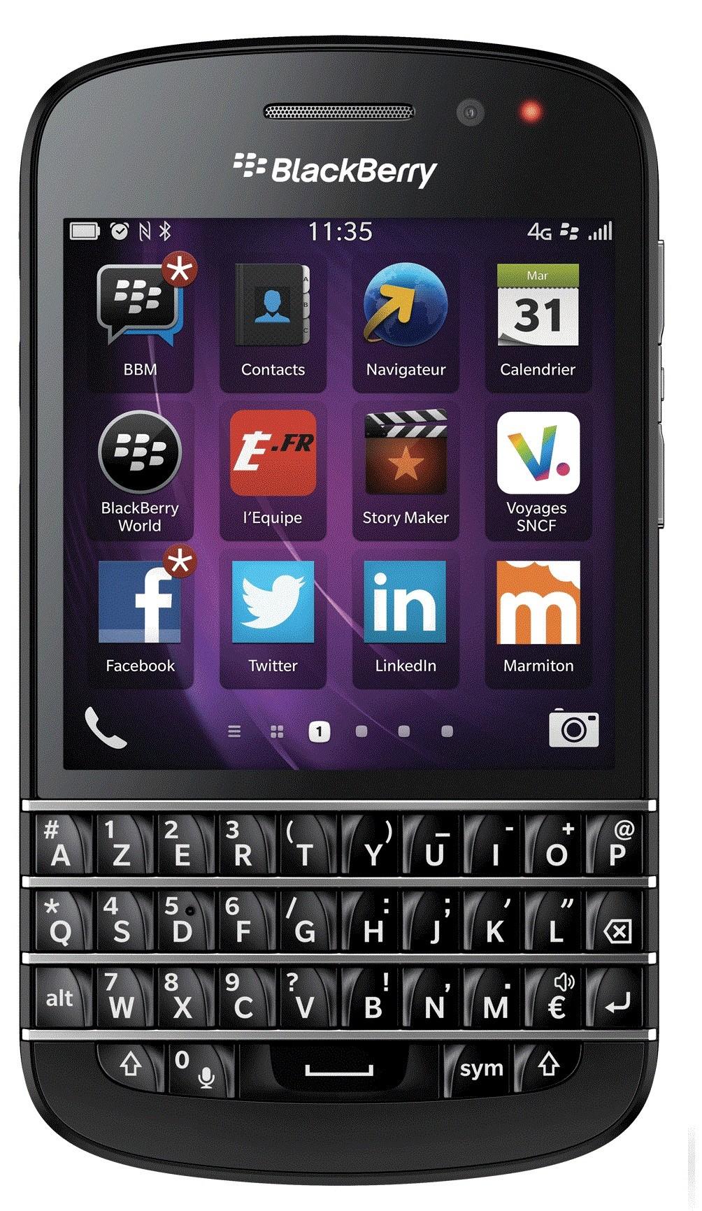 Blackberry Q10 (Azerty)