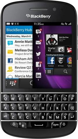 Blackberry Q10 (Qwerty)