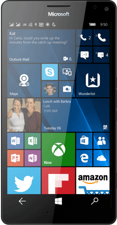 Microsoft Lumia 950 XL Double SIM